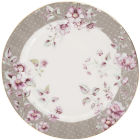 Buy Katie Alice Ditsy Floral Side Plate Grey at Louis Potts