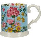 Buy Katie Alice Eastern Flora Tankard Mug Teal Flora at Louis Potts