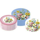 Buy Katie Alice English Garden Cake Tin Set of 3 at Louis Potts