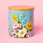 Buy Katie Alice English Garden Storage Jar Floral Blue at Louis Potts