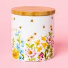 Buy Katie Alice English Garden Storage Jar Floral White at Louis Potts