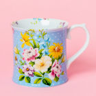 Buy Katie Alice English Garden Tankard Mug Blue at Louis Potts