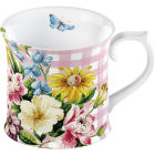 Buy Katie Alice English Garden Tankard Mug Pink at Louis Potts