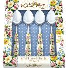 Buy Katie Alice English Garden Teaspoon Set of 4 at Louis Potts