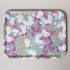 Buy Katie Alice English Roses Large Tray Floral Duck Egg Blue at Louis Potts