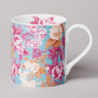 Buy Katie Alice English Roses Small Mug Floral Duck Egg Blue at Louis Potts