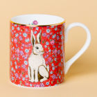 Buy Katie Alice Forest Fling Small Mug Hare Cherry at Louis Potts