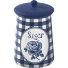 Buy Katie Alice Vintage Indigo Storage Jar Sugar at Louis Potts