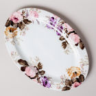 Buy Katie Alice Wild Apricity Oval Platter White at Louis Potts