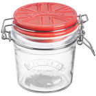Buy Kilner Home Preserving Jars Kilner Cliptop Jar Red Ceramic Lid 0.35L at Louis Potts