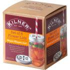 Buy Kilner Home Preserving Jars Kilner Flower Lid Set of 6 at Louis Potts