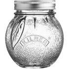 Buy Kilner Home Preserving Jars Kilner Fruit Preserve Jar 0.4L Orange at Louis Potts