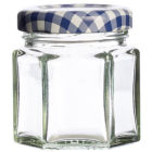 Buy Kilner Home Preserving Jars Kilner Hexagonal Twist-Top Jar 0.048L at Louis Potts