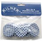 Buy Kilner Home Preserving Jars Kilner Hexagonal Twist-Top Lids Pack D at Louis Potts
