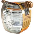 Buy Kilner Home Preserving Jars Kilner Honey Pot & Wooden Dipper Set at Louis Potts