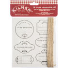 Buy Kilner Home Preserving Jars Kilner Vintage Larder Label Set Pack of 19 at Louis Potts
