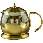 Buy La Cafetiere Edited Collection Edited Le Teapot 2 Cup Brushed Gold at Louis Potts