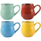 Buy La Cafetiere Core Collection La Cafetiere Espresso Mug Bright Set of 4 at Louis Potts
