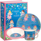 Buy Little Rhymes Little Rhymes 3-Piece Melamine Set Fairies & Friends at Louis Potts