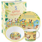 Buy Little Rhymes Little Rhymes 3-Piece Melamine Set Five Little Monkeys at Louis Potts