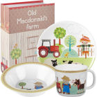Buy Little Rhymes Little Rhymes 3-Piece Melamine Set Old Macdonald's Farm at Louis Potts