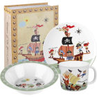 Buy Little Rhymes Little Rhymes 3-Piece Melamine Set Pirates at Louis Potts