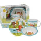 Buy Little Rhymes Little Rhymes 3-Piece Melamine Set Row Your Boat at Louis Potts