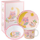 Buy Little Rhymes Little Rhymes 3-Piece Melamine Set Twinkle Twinkle Pink at Louis Potts