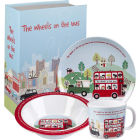 Buy Little Rhymes Little Rhymes 3-Piece Melamine Set Wheels On The Bus at Louis Potts