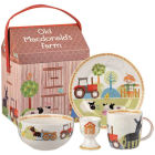 Buy Little Rhymes Little Rhymes 4-Piece Breakfast Set Old MacDonald's Farm at Louis Potts
