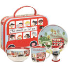 Buy Little Rhymes Little Rhymes 4-Piece Breakfast Set Wheels On The Bus at Louis Potts