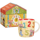 Buy Little Rhymes Little Rhymes Mug In Hatbox Hickory Dickory Dock at Louis Potts