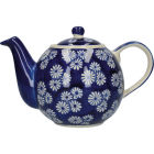 Buy London Pottery Out Of The Blue 4-Cup Teapot Daisies at Louis Potts