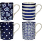 Buy London Pottery Out Of The Blue Out Of The Blue Mug Tulip Set of 4 at Louis Potts