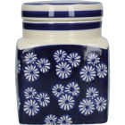 Buy London Pottery Out Of The Blue Storage Jar Daisies at Louis Potts