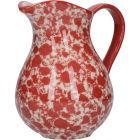 Buy London Pottery Splash Jug Medium Splash Red at Louis Potts