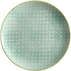 Buy Maxwell & Williams Laguna Side Plate Crystal Cove Green at Louis Potts