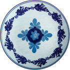 Buy Maxwell & Williams Majolica Dinner Plate 26.5cm Sky Blue at Louis Potts
