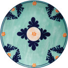 Buy Maxwell & Williams Majolica Dinner Plate 26.5cm Teal at Louis Potts