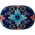 Buy Maxwell & Williams Majolica Oval Serving Platter 40cm Ink Blue at Louis Potts