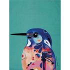 Buy Maxwell & Williams Pete Cromer Tea Towel Kingfisher at Louis Potts