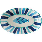 Buy Maxwell & Williams Reef Oval Serving Bowl 42cm Fish at Louis Potts
