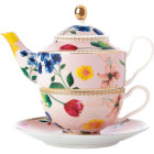 Buy Maxwell & Williams Teas & Cs Contessa Tea For One Set & Infuser Rose at Louis Potts