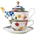 Buy Maxwell & Williams Teas & Cs Contessa Tea For One Set & Infuser White at Louis Potts