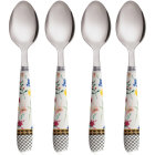 Buy Maxwell & Williams Teas & Cs Contessa Teaspoon Set of 4 White at Louis Potts