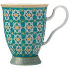 Buy Maxwell & Williams Teas & Cs Kasbah Footed Mug Mint at Louis Potts