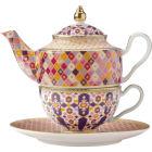 Buy Maxwell & Williams Teas & Cs Kasbah Tea For One Set & Infuser Rose at Louis Potts