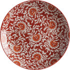 Buy Maxwell & Williams Boho Dinner Plate 27cm Damask Red at Louis Potts