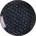 Buy Maxwell & Williams Boho Dinner Plate 27cm Shibori Navy at Louis Potts
