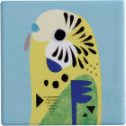 Buy Maxwell & Williams Pete Cromer Coaster Budgerigar at Louis Potts